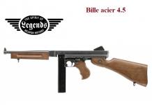 Pistolet Legends M1A1 Bronze Thomson 1940 Fulle auto 4.5 Bille Acier