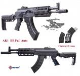 Carabine AK1 full auto   Cal. 4.5 Bille  Acier