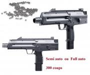 Pistolet  mitrailleur  semi auto & full auto   Cal. 4.5 Bille  Acier