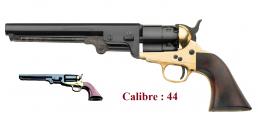 Revolver à poudre noir   Navy laiton 1851 Cal. 44