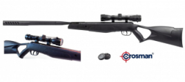 Pack  Carabine à Plombs  break barrel F4 Cal 4.5 mm