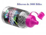 Biberon de 3000 BILLES Acier   de Cal. 4.5 mm