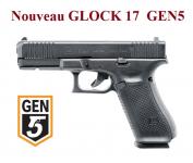 Pistolet GLOCK 17   GEN5  Cal 9 mm